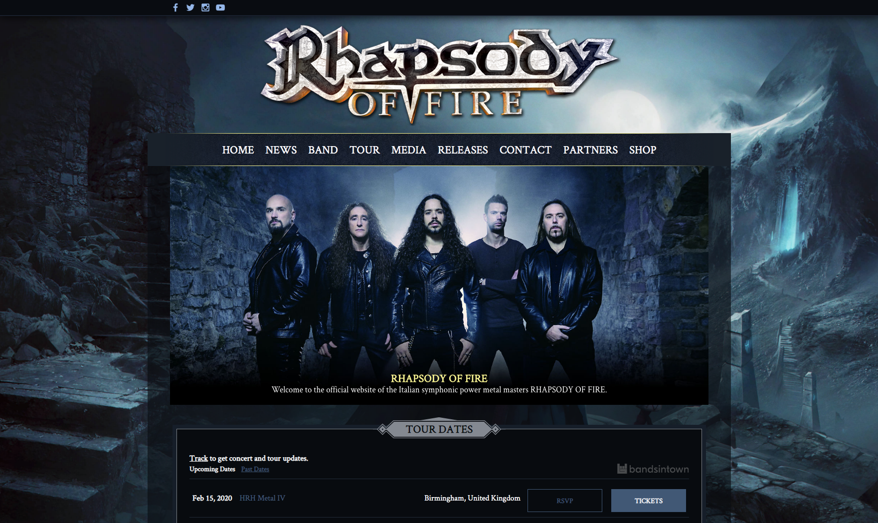 Sito Rhapsody Of Fire